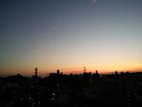 夕日に近づきたい