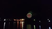港まつり花火の夜