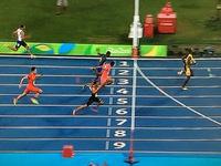 400メートルリレー銀メダル