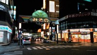 夜のみその商店街