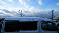 和歌山市内に雪