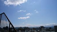 台風一過また夏