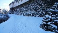 和歌山2センチの積雪
