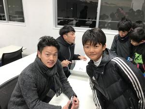 ルイ ラモス・ヴェジット初蹴り交流試合!