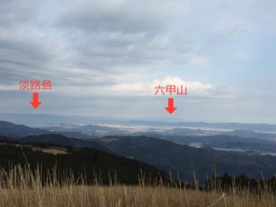 生石山からの景色