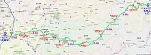 高野山マラニック地図