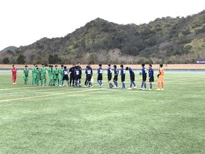 U-13サッカーリーグ2020関西ヤマトタケルリーグ昇格決定戦 和歌山県PO。
