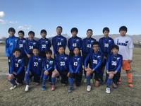 2020年 初試合(U13)。