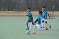 試合 in 大宮緑地公園。