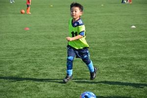 親子サッカー。