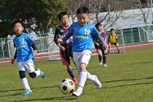 キッズサッカーフェスティバル。