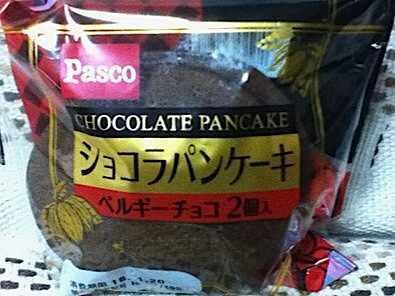 ショコラパンケーキ