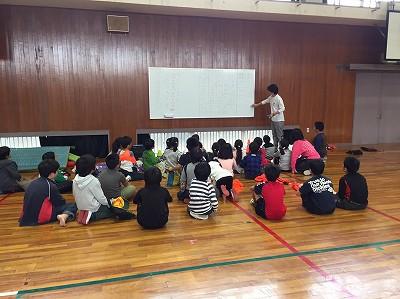 11/19のスポ鬼教室(出張編)