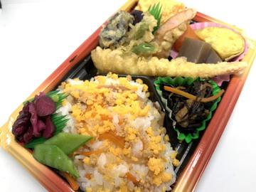 11月限定‼︎天ぷらとチラシ寿司弁当