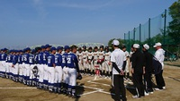 4月22日三つ巴練習試合 対東淀川シニアさん・大和高田シニアさん レギュラー