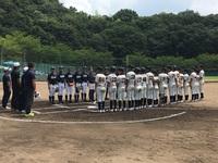 7月30日練習試合 対大阪和泉ボーイズさん ジュニア