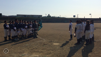 2月18日スーパージュニア初陣 練習試合 対和歌山ボーイズさん
