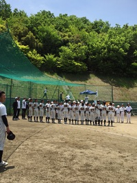 5月7日練習試合 対和泉ボーイズさん スーパージュニア