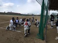 2月4日三つ巴練習試合 対湖北ボーイズさん・大阪箕面ボーイズさん ジュニア