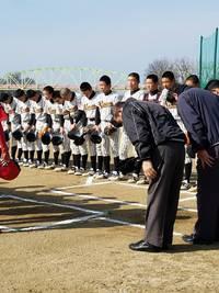 1月21日オープン戦 対阪神ボーイズさん ジュニア