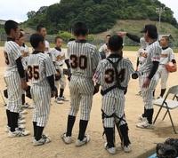 6月18日練習試合 対生石ボーイズさん スーパージュニア