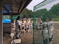 7月9日練習試合 対奈良葛城ボーイズさん スーパージュニア