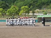 5月28日練習試合 対日高ボーイズさん スーパージュニア