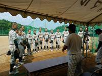 7月30日練習試合 三つ巴 スーパージュニア