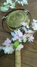 鉦・鳴物・桜