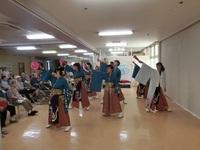 慰問演舞!!