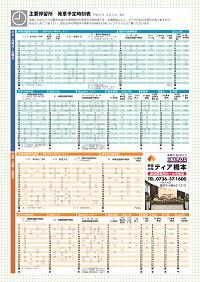 【告知】橋本市内バスマップを作成いたしました