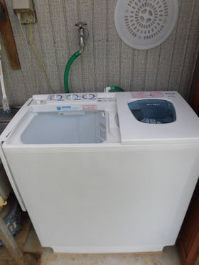 最後の洗濯機