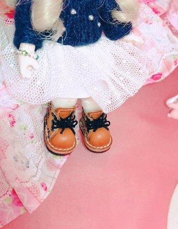 お客様のドールとブーツ(アイドール名古屋)④