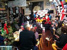 クリスマスパーティーとレコ発ライブユーストリーム