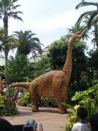 恐竜が〜!!!☆