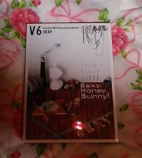 V6 live tour 2011 DVD