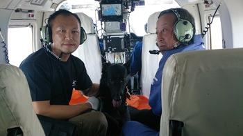 和歌山県警ヘリコプター搭乗訓練