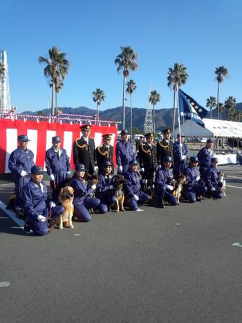 2013年和歌山県警察年頭視悦式