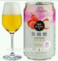 台湾ライチビール【輸入ビール】