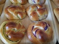 紫いもあんパン