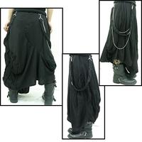 ヴィジュアル系ロック変形スカート
