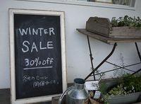 冬物30%OFFになります