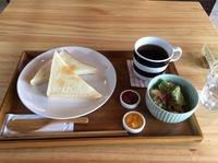 今日のモーニング(cafe くくたち)