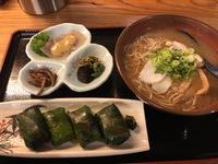 赤玉のわさび寿司