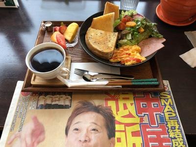 今日のモーニング(カインズカフェ:岸和田)