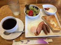 今日のモーニング(cafe KiHARU)