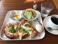 今日のモーニング(cafe mo@ni)