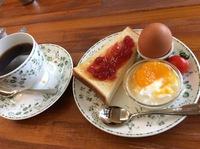 今日のモーニング(moca  morita cafe)