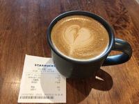 今日のカフェ(スタバ)