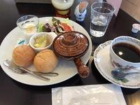 今日のモーニング(ルナカフェ)